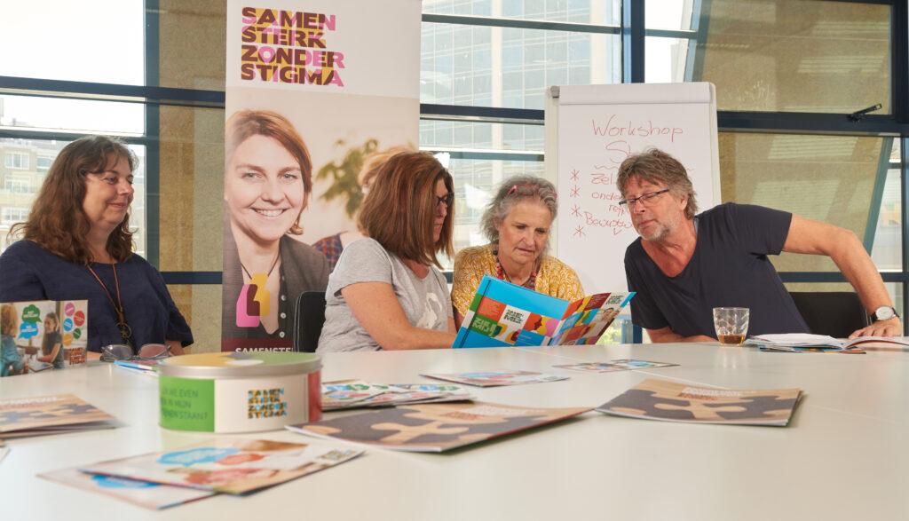 Ambassadeurs van Samen Sterk zonder Stigma